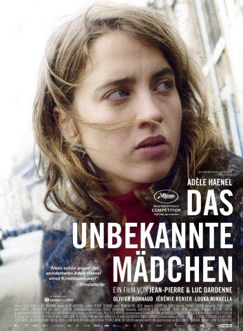 Das unbekannte Mädchen - 2016 Filmposter