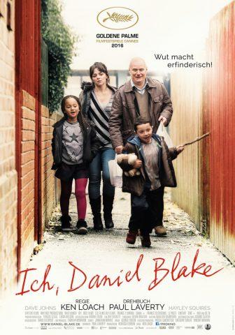 Ich, Daniel Blake - 2016 Filmposter