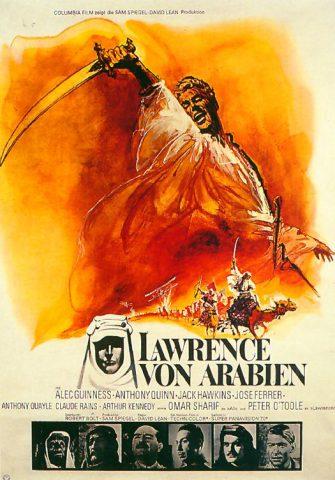 Lawrence von Arabien - 1962 Filmposter