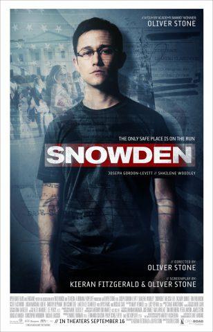 Snowden - 2016 Filmposter