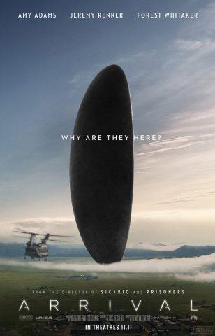 Arrival 2017 Filmposter