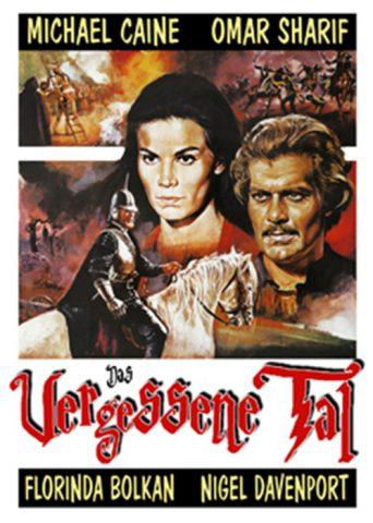 Das vergessene Tal 1971 Filmposter