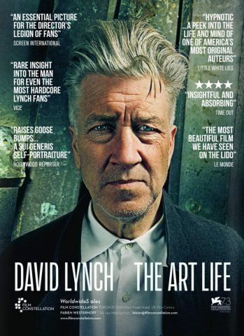 David Lynch – The Art Life 2017 Filmposter