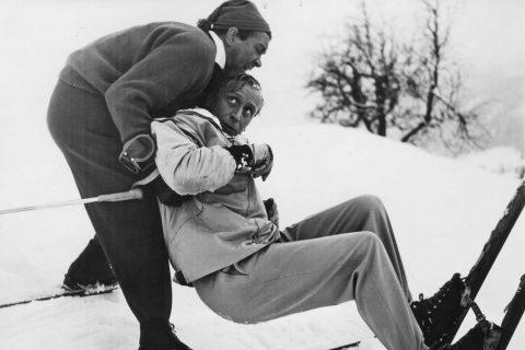 Drei Männer im Schnee 1955