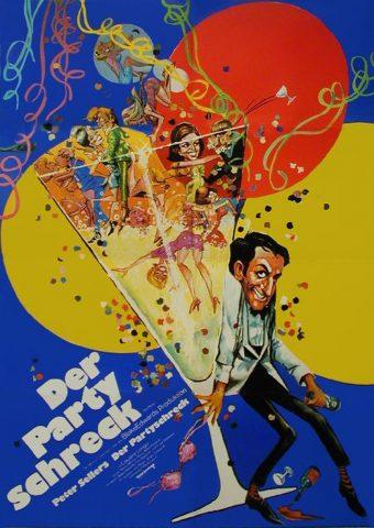 Der Partyschreck 1968 Filmposter