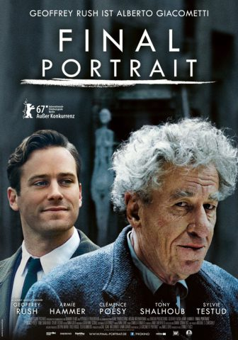 Final Portrait Filmposter