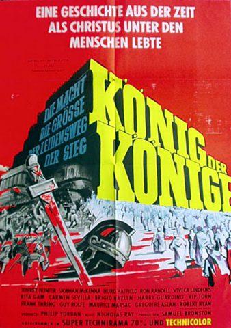 König der Könige 1961 Filmposter