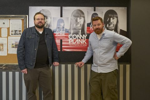 Premiere im Atelier mit Conny Plank