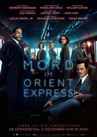 Mord im Orient Express 2017 Filmposter