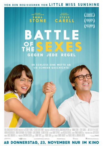 Battle Of The Sexes 2017 Filmposter