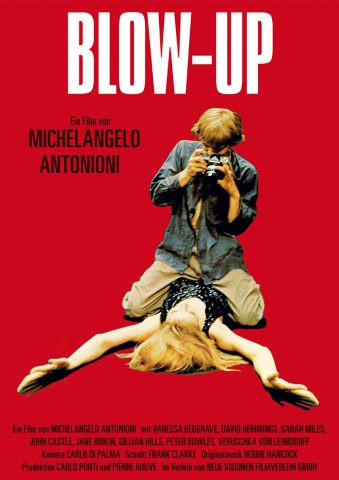 Blow Up - 1967 Filmposter