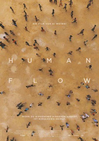 Human Flow 2017 Filmposter
