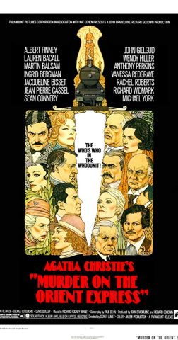 Mord im Orient-Express 1974 - Filmposter
