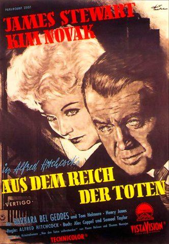 Vertigo 1958 Filmposter