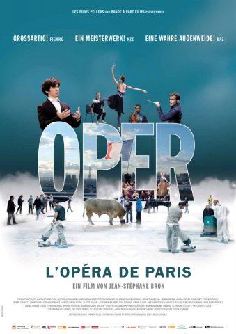 Oper. L'Opéra de Paris 2017 Filmposter