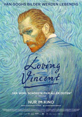 Loving Vincent 2017 Filmposter