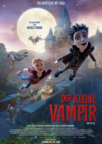 Der kleine Vampir 2017 Filmposter