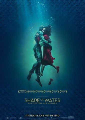 Shape of Water 2017 Filmposter