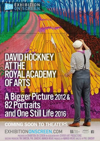 David Hockney in der Royal Academy of Arts 2017 Filmposter
