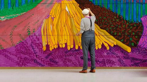 David Hockney in der Royal Academy of Arts 2017