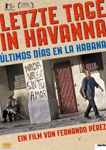 Letzte Tage in Havanna 2016 Filmposter