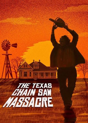 The Texas Chain Saw-Massacre 1974 Filmposter