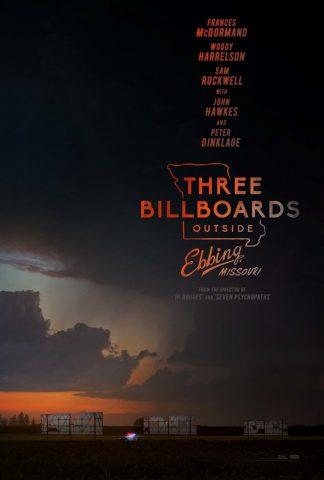 Three Billboards Outside Ebbing, Missouri 2017 Filmposter