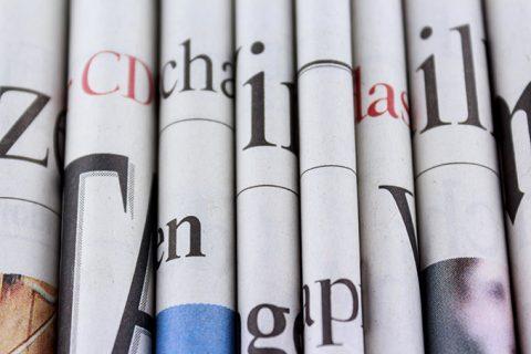 Zeitungen, Nachrichten Zeitung