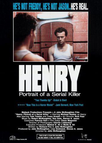 Henry 1986 Filmposter