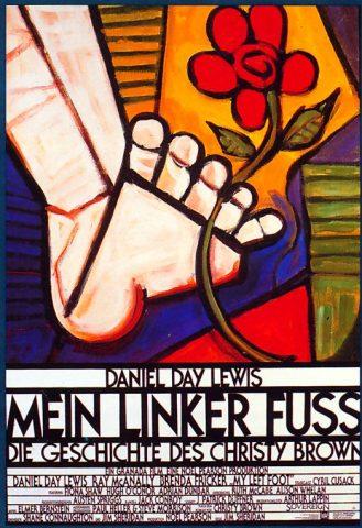 Mein linker Fuß - 1989 Filmposter