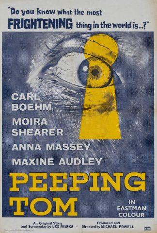 Peeping Tom 1960 Filmposter