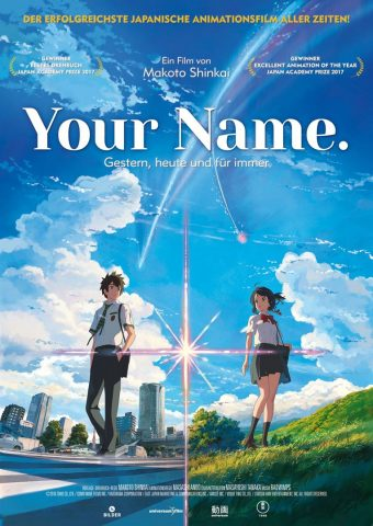 Your Name. 2016 Filmposter