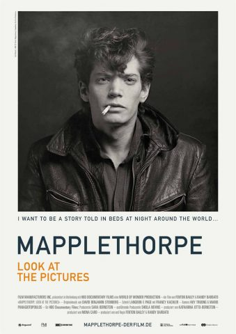 Mapplethorpe - Look at the Pictures - 2016 Filmposter