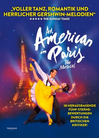 An American in Paris – The Musical 2018 Filmposter