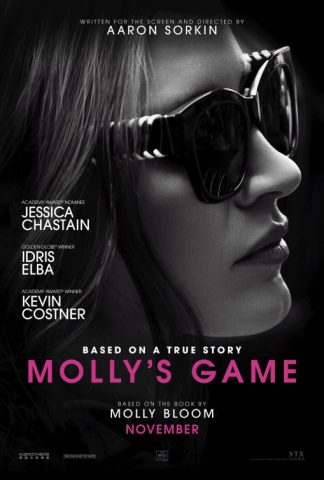 Molly's Game 2017 Filmposter