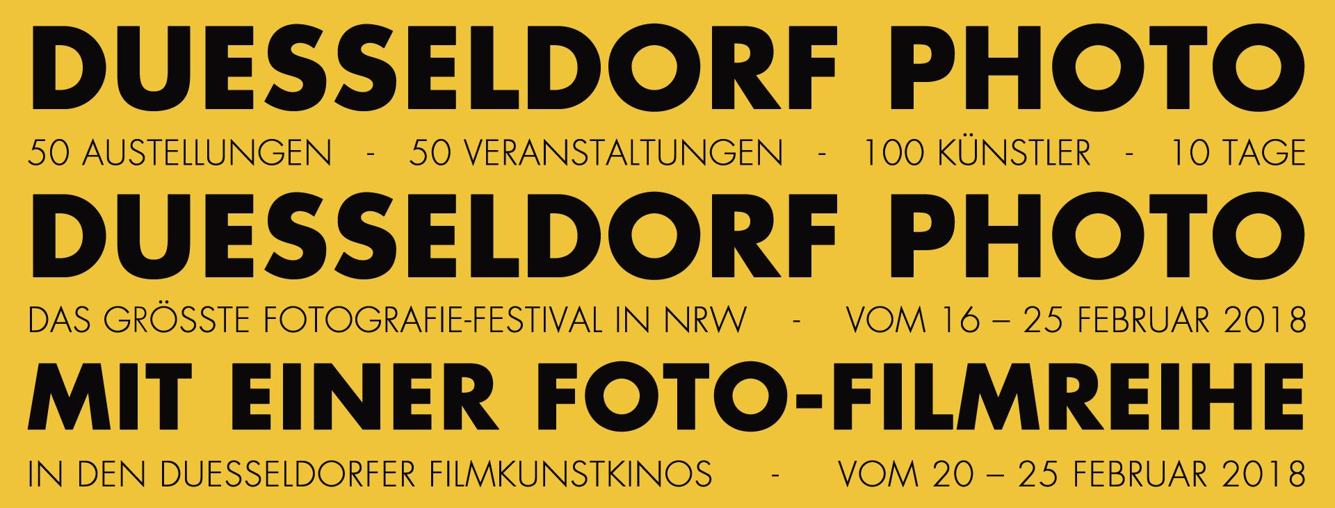 Eine Foto-Filmreihe in den Filmkunstkinos