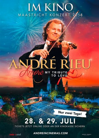 André Rieu: Amore – My Tribute to Love - 2018 Poster