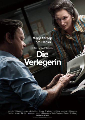 Die Verlegerin 2017 Filmposter