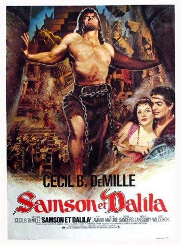 Samson und Delilah - 1949 Filmposter