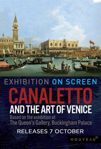 Canaletto und die Kunst von Venedig - 2018 Filmposter