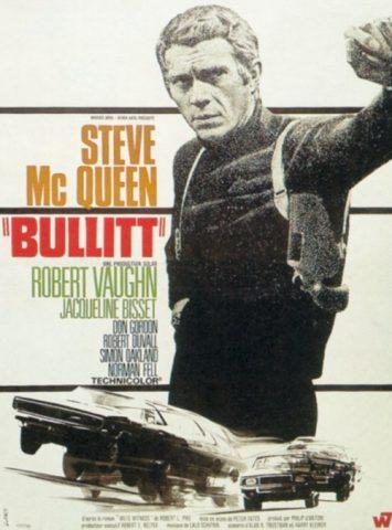 Bullitt - 1968 Filmposter
