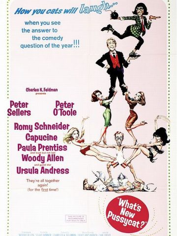 Was gibt´s Neues, Pussy? - 1965 Filmposter