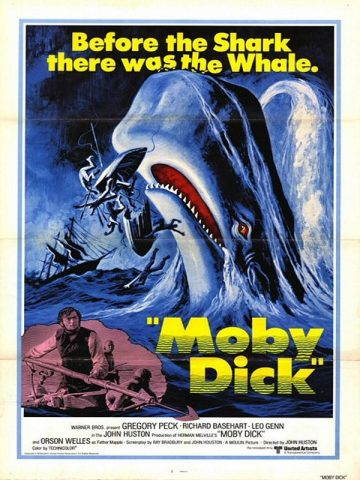 Moby Dick - 1956 Filmposter