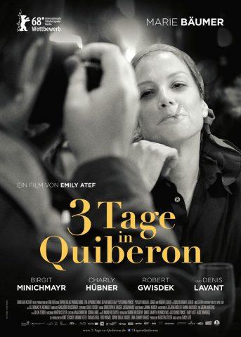 3 Tage in Quiberon 2018 Filmposter