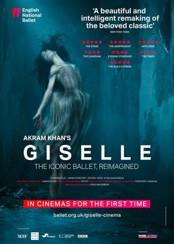 Akram Khan's Giselle 2017 Poster