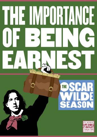 The Importance of Being Earnest - 2018 Poster