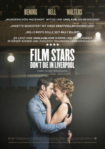 Filmstars don´t die in Liverpool - 2017 Filmposter