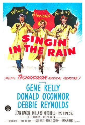 Singin´ in the Rain - 1952 Filmposter