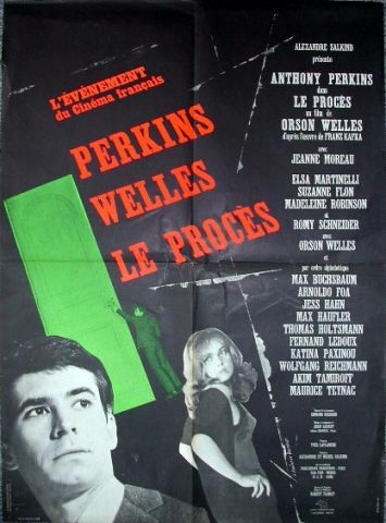 Der Prozess - 1962 Filmposter