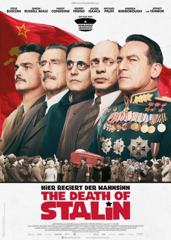 The Death of Stalin 2017 Filmposter